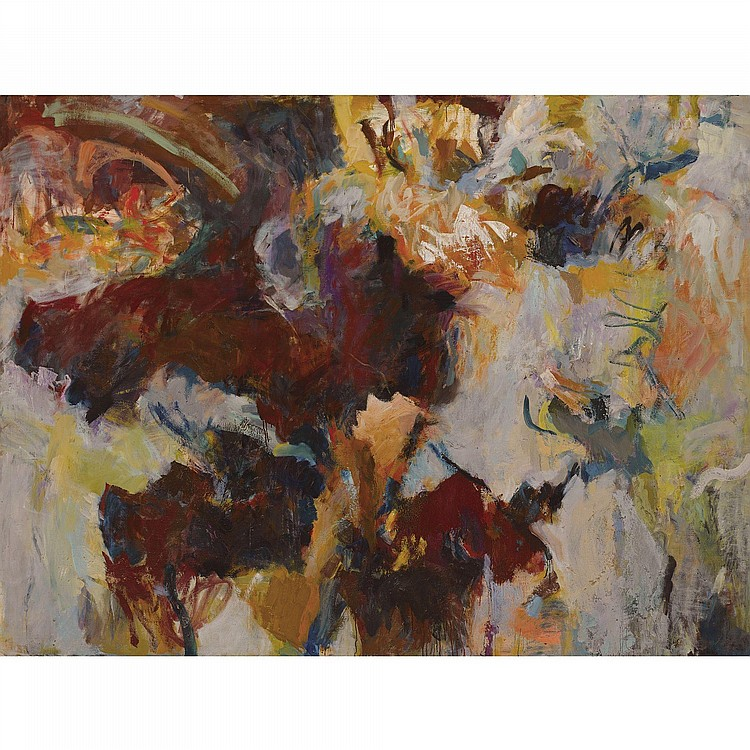 Shirley Jaffe Paintings For Sale