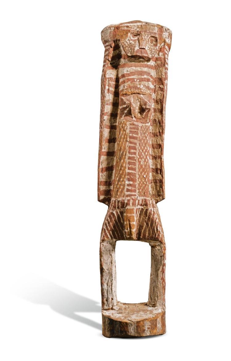 ENRAELD DJULABINYANNA MUNKARA (TJIPUNGALEIALUMI) CIRCA 1882-1968 | Untitled, Double Sided Female Figure