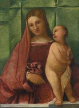 FOLLOWER OF TIZIANO VECELLIO, CALLED TITIAN | The Madonna and Child