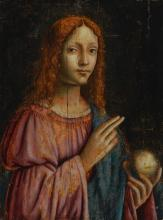 MILANESE SCHOOL, 16TH CENTURY | Salvator Mundi