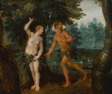 FLEMISH SCHOOL, 17TH CENTURY | Adam and Eve