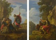 ANDREA LOCATELLI | Bandits in a rocky landscape: a pair