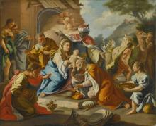 FOLLOWER OF FRANCESCO DE MURA | The Adoration of the Magi