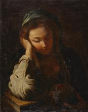 FOLLOWER OF DOMENICO FETTI | The Penitent Magdalene