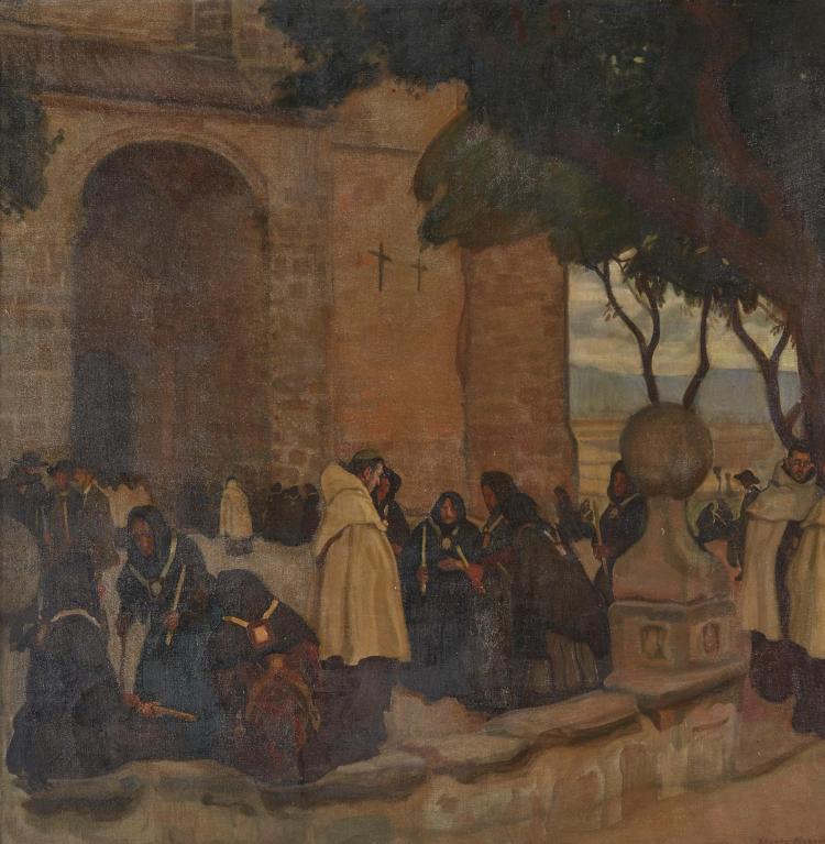 JOSÉ MARÍA LÓPEZ MEZQUITA | Antes de la Procesion