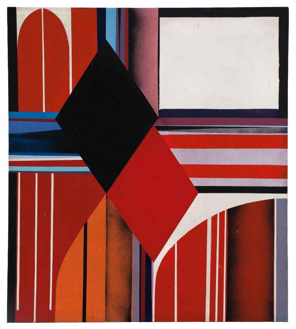 KAZUYA SAKAI (B. 1927) | E-Cars (Ornette Coleman), 1967