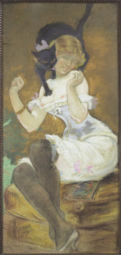 ADOLPHE-LÉON WILLETTE (CHALONS-SUR-MARNE 1857 - PARIS 1926)