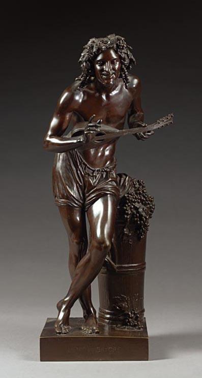 FRANCISQUE-JOSEPH DURET FRENCH, 1804-1865 IMPROVVISATORE