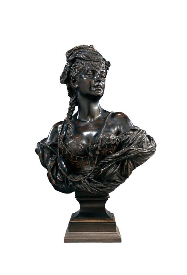 f - ADÈLE D'AFFRY, DUCHESS CASTIGLIONE-COLONNA, CALLED MARCELLO FRENCH, 1836-1879 A BUST OF MME.