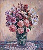 NORA HEYSEN 1911-2003 COTTAGE BUNCH, Nora Heysen, Click for value