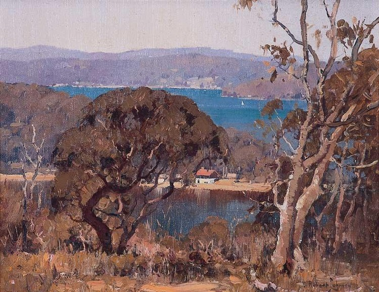 ROBERT JOHNSON 1890-1964 PITTWATER