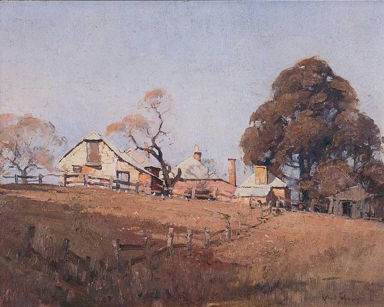 ROBERT JOHNSON 1890-1964 EAST WOOD FARM HOUSE
