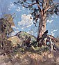 SEPTIMUS POWER 1878-1951 LANDSCAPE WITH HORSE AND RIDER, H. Septimus Power, Click for value