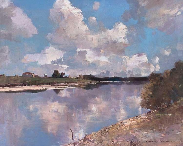 RUBERY BENNETT 1893-1987 HAWKESBURY RIVER, WINDSOR