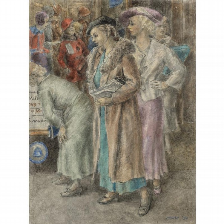 REGINALD MARSH 1898-1954