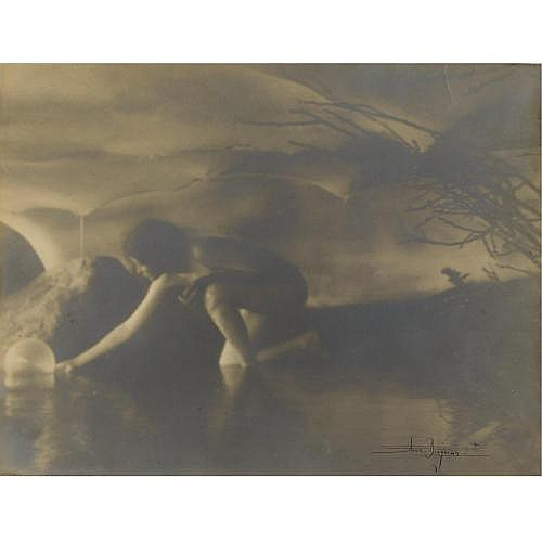 Anne W. Brigman 1869-1950 , 'the bubble'