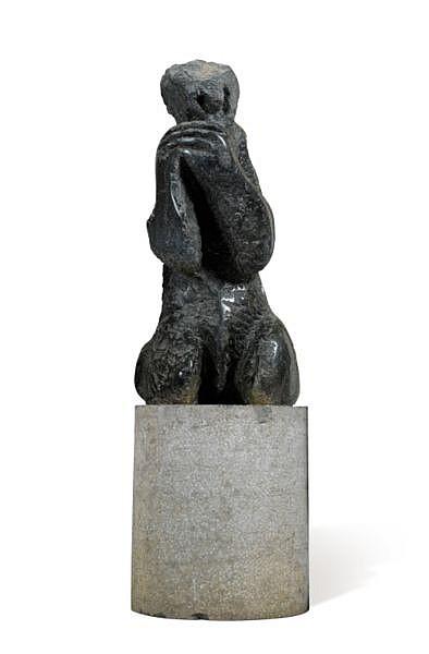 Eugène Dodeigne , n. 1923 La mère pierre de Soignies