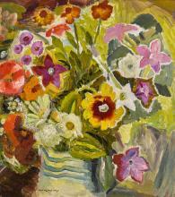 IVON HITCHENS | Autumn Flowers No. 1