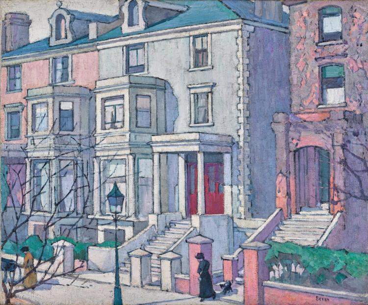 ROBERT POLHILL BEVAN | Houses in Sunlight