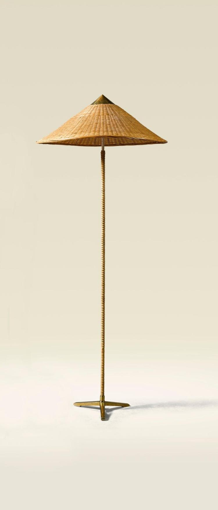 Paavo Tynell Chinese Hat Floor Lamp