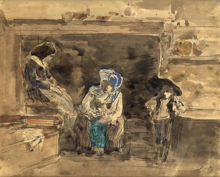 EUGÈNE BOUDIN, 1824-1898