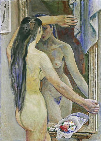 Alfred Heinrich Pellegrini 1881-1958 Öl auf Leinwand