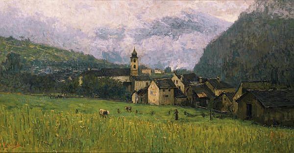 Giovanni Cavalli 1865- 1932 Öl auf Leinwand
