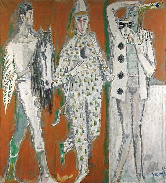 Alois Carigiet 1902-1985 Öl auf Leinwand
