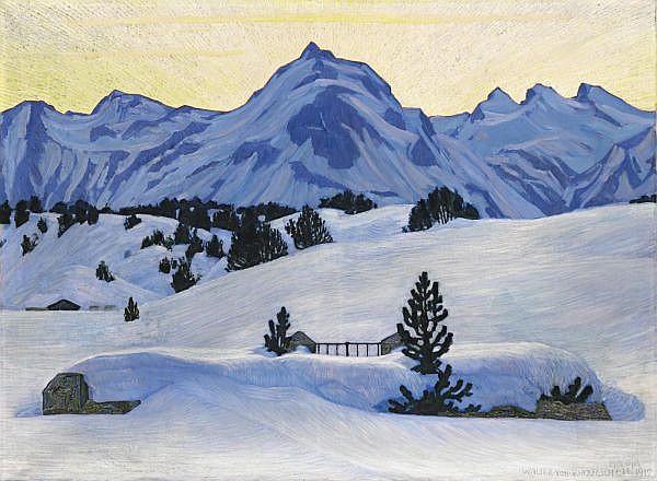 Walter von Ruckteschell 1882-1941 Öl auf Leinwand