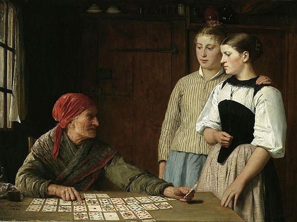 - Albert Anker 1831-1910 Öl auf Leinwand