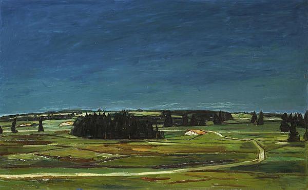 Albert Schnyder 1898-1989 Öl auf Leinwand