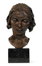SIR JACOB EPSTEIN | Second Portrait of Oriel Ross (Head)