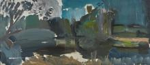 IVON HITCHENS | Spring Mill Pool