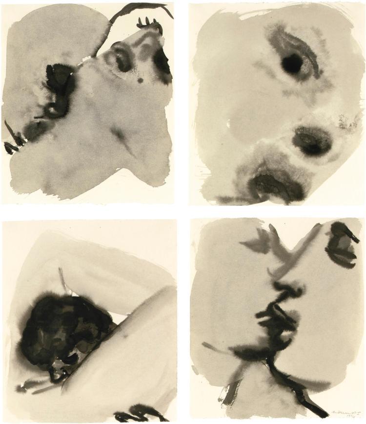 MARLENE DUMAS   Kissing