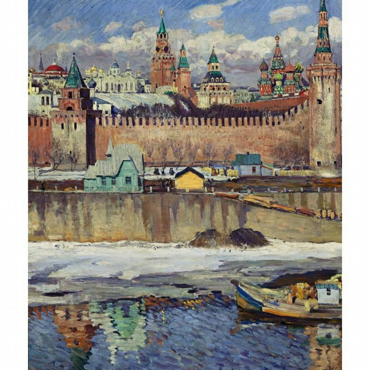 SERGEI ARSENEEVICH VINOGRADOV RUSSIAN, 1869-1938 MOSCOW, KREMLIN