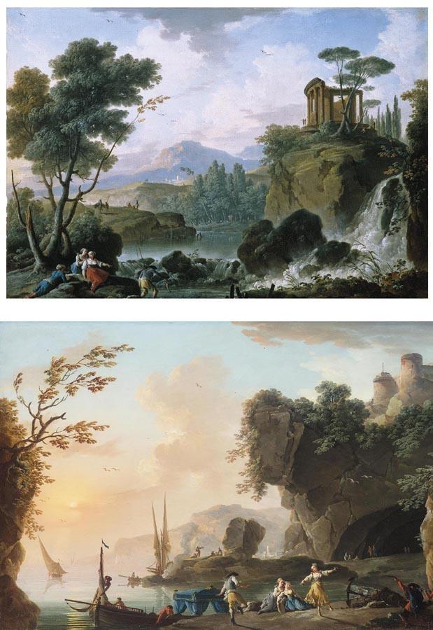 CHARLES-FRANÇOIS GRENIER DE LACROIX, CALLED LACROIX DE MARSEILLE MARSEILLE CIRCA 1700 - 1782