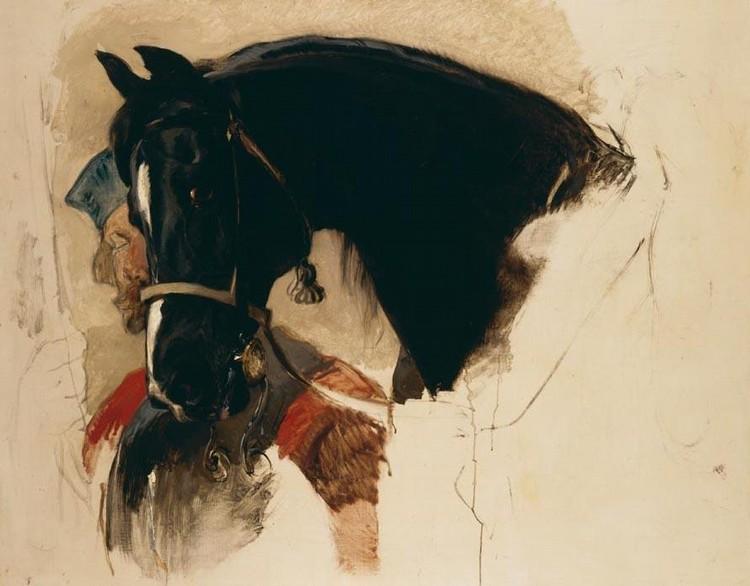 SIR EDWIN HENRY LANDSEER, R.A.  1802-1873 MY HORSE
