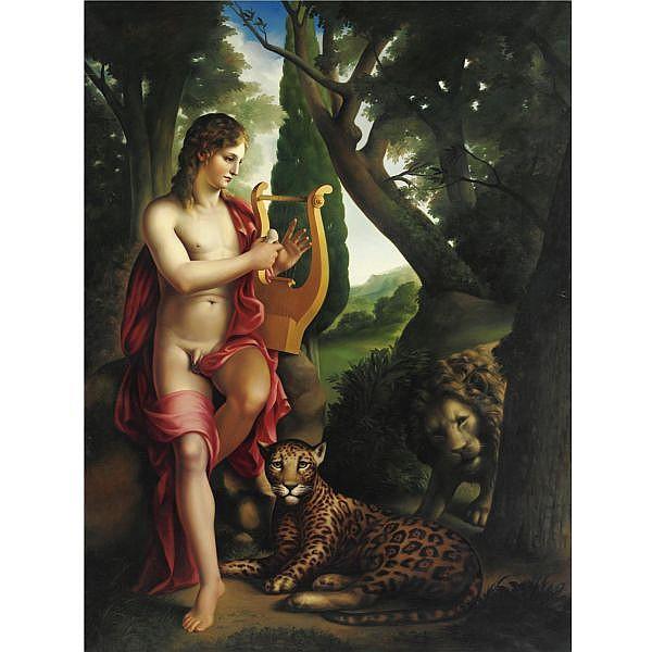 - Carlo Maria Mariani , n. 1931 Orfeo olio su tela