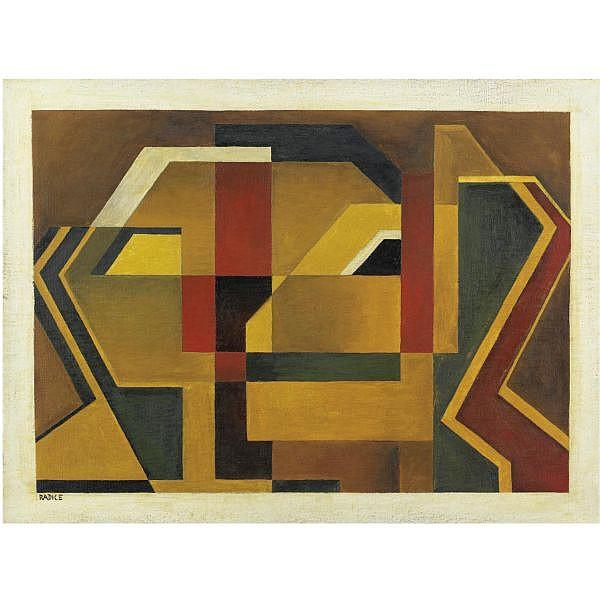 - Mario Radice , 1900-1987 R.S.M.B.R. olio su tela