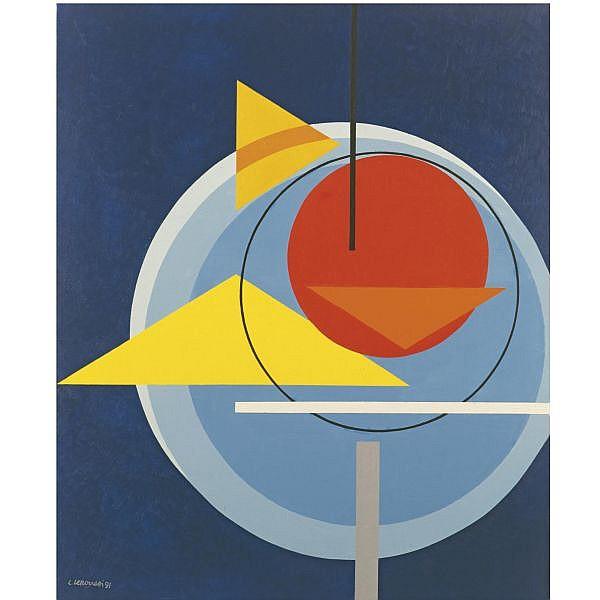 - Luigi Veronesi , 1908-1998 KF6 olio su tela
