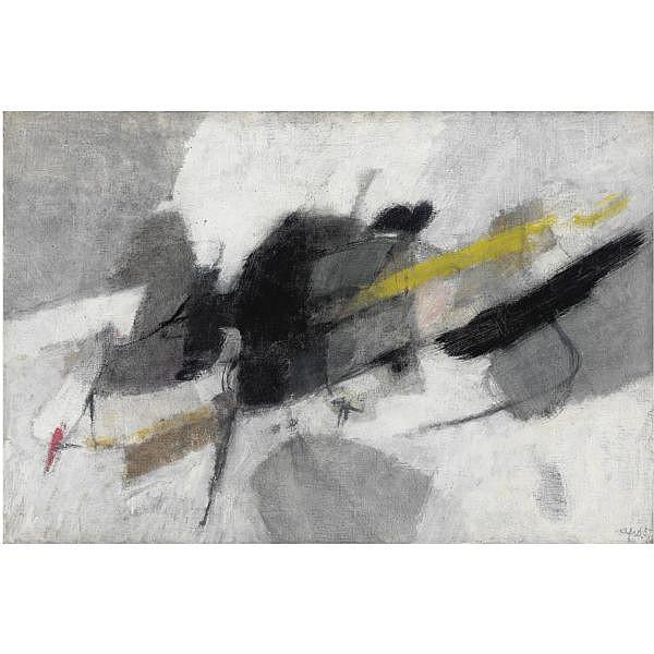 - Afro , 1912-1976 Segno limite   olio su tela