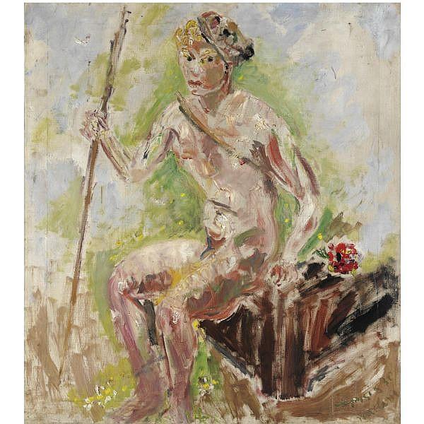- Filippo de Pisis , 1896-1956 Pan olio su tela