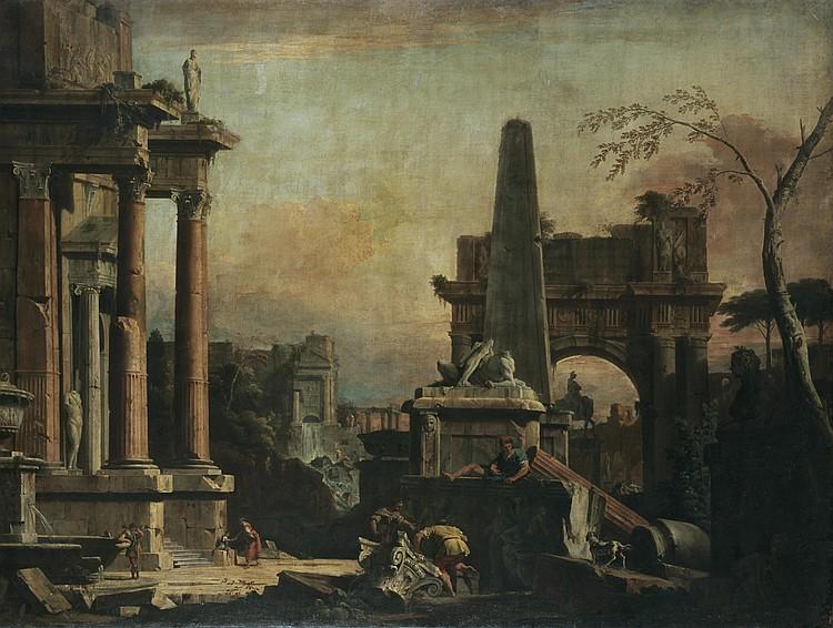 SEBASTIANO RICCI BELLUNO 1659-1734 VENICE AND MARCO RICCI