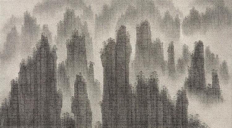 LI JUNYI (LEE CHUN-YI) | Shan Shui, Shan Sui (Landscape, Fragments)