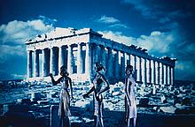 LAURIE SIMMONS   Tourism: Parthenon (2nd View)