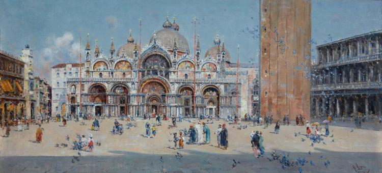 ANTONIO REYNA | St Mark's Square, Venice