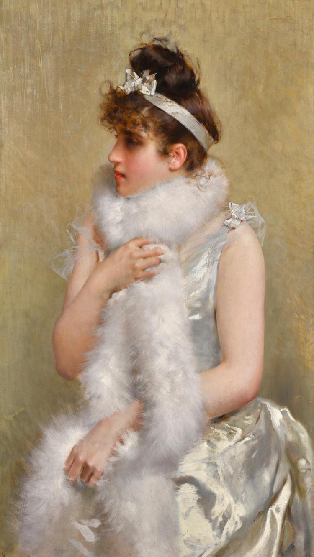 VITTORIO CORCOS | Girl in White