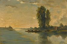 SIR WINSTON CHURCHILL, HON. R.A. | After Daubigny