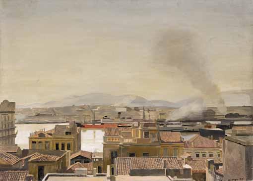 f - YIANNIS TSAROUCHIS GREEK, 1910-89