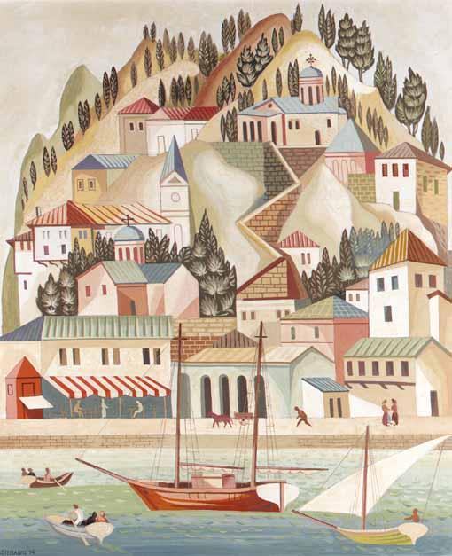 AGENOR ASTERIADIS GREEK, 1898-1977